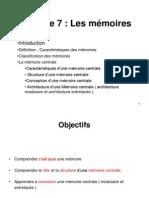Ch7 Memoires