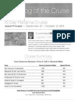 Island Princess Patters 2014-09-27 to 10-12 Panama Canal