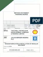 Method Statement for Finishing Works.pdf