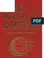 The World Order - A Study in the Hegemony of Parasitism