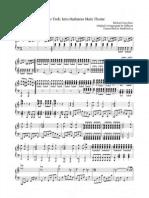 Star Trek - Into Darkness Main Theme piano sheets