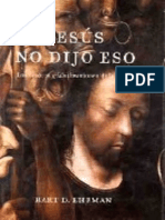 Jesus No Dijo Eso - Bart D. Ehrman.epub