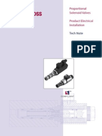 Proportional Solenoid Valves Product Electrical Installation Tech Note_11022746_Rev-AA_Apr-2007