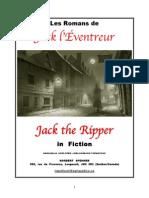 Les Romans de Jack l'Éventreur