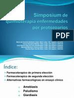 Simposium de quimioterapia enfermedades por protozoarios.ppt