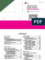 LG MDD62 service manual
