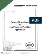 MSS SP 133  2005   EXCESS FLOW VALVES LOW PRES FUEL GAS.pdf