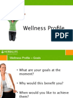 Wellness Profile Client Facing