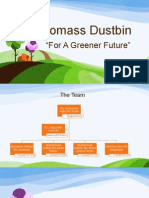 Biomass Dustbin
