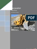 Perkembangan, produksi, k3 Excavator