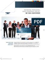 Flyer Certification Professional a4 Print
