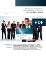 Flyer Certification Professional a4 Web