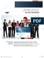 Flyer Certification Professional Usletter Print
