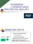 8 1991 Panduan Mengenai Manual Prosedur Kerja (Mpk)