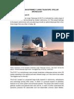 THE EUROPEAN EXTREMELY LARGE TELESCOPE.pdf