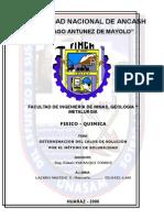 CALOR DE SOLUCIÓN   POR EL MÉTODO DE SOLUBILIDAD.doc