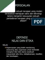 Nilai Dan Etika