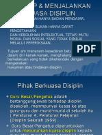 PANDUAN DISIPLIN