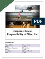 NIKE CSR Analysis