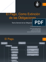 El Pago, Como Extinción de las Obligaciones 1.pptx