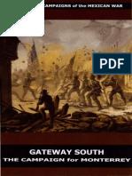 CMH Pub 73-1 - Mexican War - Gateway South The Campaign for Monterrey