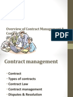 Overview of Contract Management & Contract Law 1