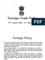 Foreign Trade Policy of India