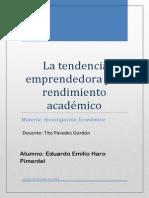 La tendencia emprendedora y el Rendimiento Académico.pdf