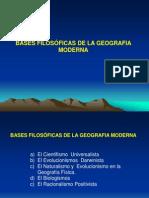 3-BASES FILOSÓFICAS DE LA GEOGRAFIA MODERNA (Mz-2012).ppt