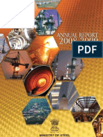 Annual Report - Steel Ministry (2008-09)