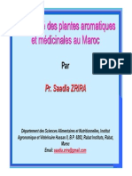 Fichier_6_information Sur LES PAM Au MAROC- Chaines de Productions - Approvosionnements Et Stats