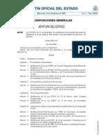 Ley 25/2009, de 22 de diciembre, de modificación de diversas leyes para su adaptación a la Ley sobre el libre acceso a las actividades de servicios y su ejercicio.