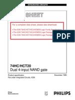 74HC20 PHILIPS.pdf