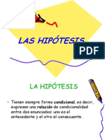 4a-La Hipótesis.ppt