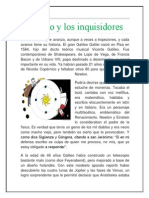 galileo y los inquisidores