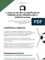 Apresentação Pentálogo 2014