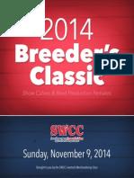Breeder's Classic 2014 Catalog