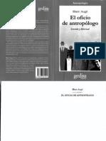 Augé Marc, El oficio de antropologo, Sentido y libertad.pdf