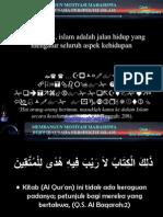 Pelatihan Kewirausahaan Untuk Mahasiswa Perspektif Islam1