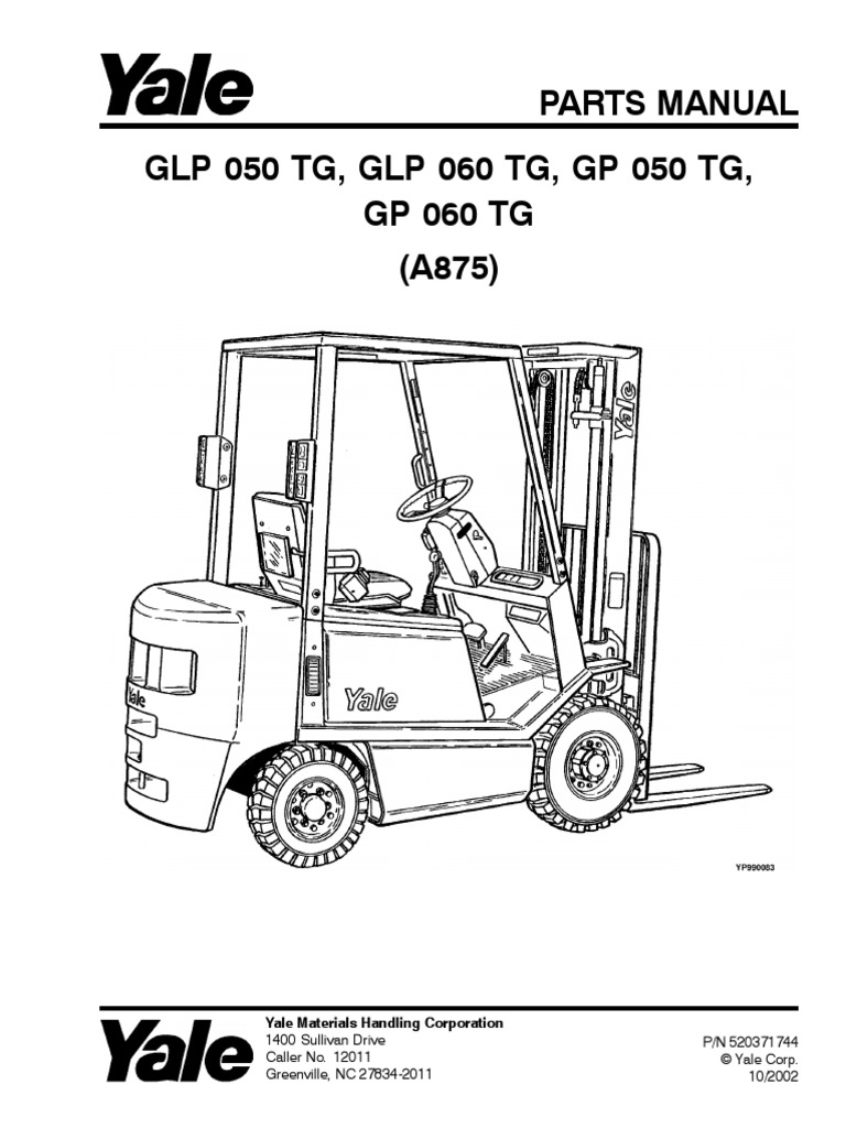 Yale Forklift Schematic Data Wiring Manual Pdf Rh Scribd Com Free Electric Diagram