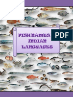 Fish Names in Indian Languages