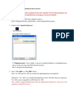 AFES Installation Procedure for OpenStaad