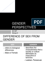 Gender Perspectives SA Report