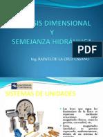 ANALISIS DIMENSIONAL Y SEMEJANZA HIDRÁULICA.pptx