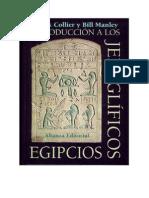 Collier - Introduccion A Los Jeroglificos Egipcios (Alianza 2000).pdf