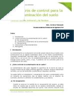TEMA 06 - PARAMETROS DE CONTROL DE LA NO CONTAMINACION DEL SUELO.docx