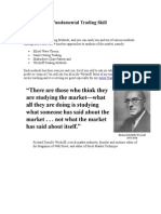 Develop Your Fundamental Trading Skill