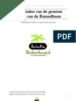 Het Inhalen Van de Gemiste Dagen Van Ramadaan Door Shaikh Al Fawzaan -Klaar
