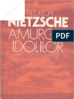 Friedrich Nietzsche-Amurgul Idolilor-ETA (1993)