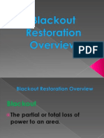 Blackout Restoration Overview